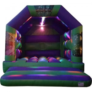 Adult Disco Bouncy Castle Lights