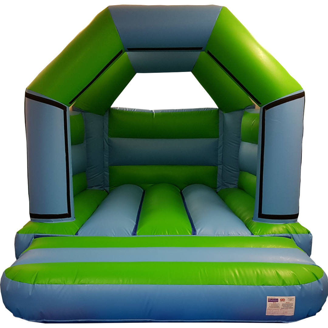Blue & Green Bouncy Castle Hire