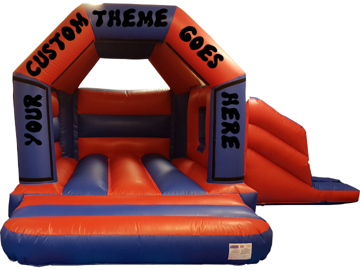 Custom Theme Bouncy Castle Slide Hire