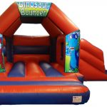 Dinosaur Bouncy Castle Slide Hire