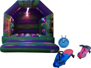 Disco Bouncy Castle Party Package