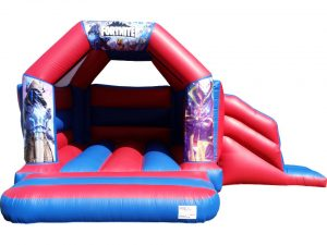 Fortnite Bouncy Castle Slide Hire