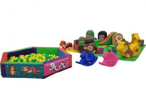 Jungle Soft Play Silver Ball Pool Ball Pit Package