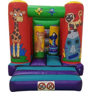 Jungle Soft Play Toddler Bouncy Castle