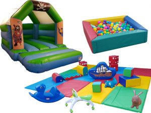Pirate Soft Play Party Gold