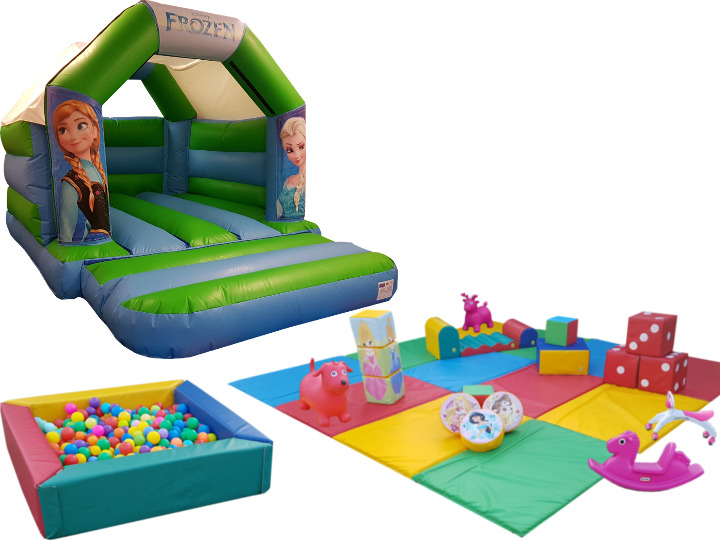 Princess Soft Play Party Gold