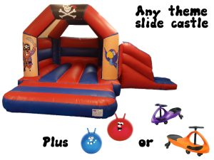 Bouncy Caslte Slide Party Package