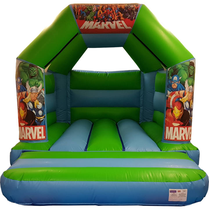 Avengers Super Hero Bouncy Castle Hire